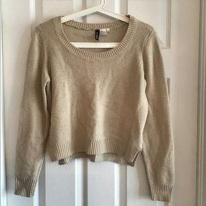 Beige sweater, H&M